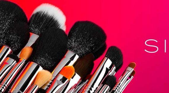 Brocha de maquillaje pelo natural o sintético