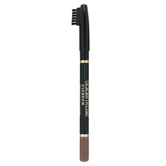 GOLDEN ROSE - Delineador de cejas con cepillo EYEBROW PENCIL 103 Marrón claro