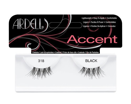 "ARDELL - Pestañas postizas ""ACCENT 318 BLACK"""