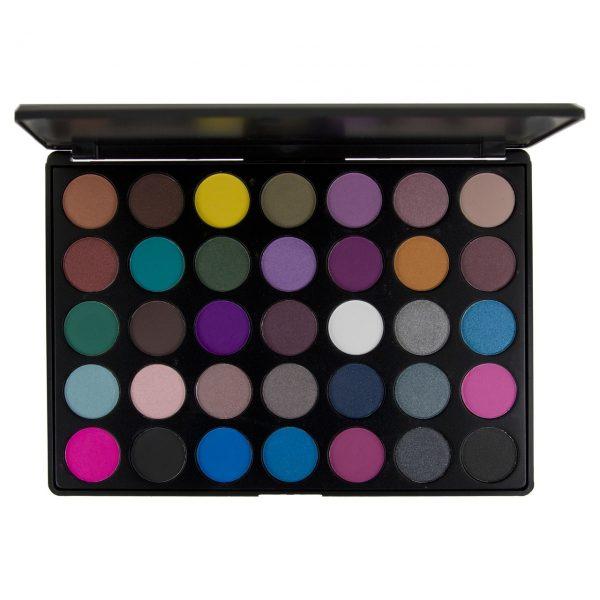 BLUSH PROFESSIONAL - Paleta 35 colores para sombras de ojos SMOKEY
