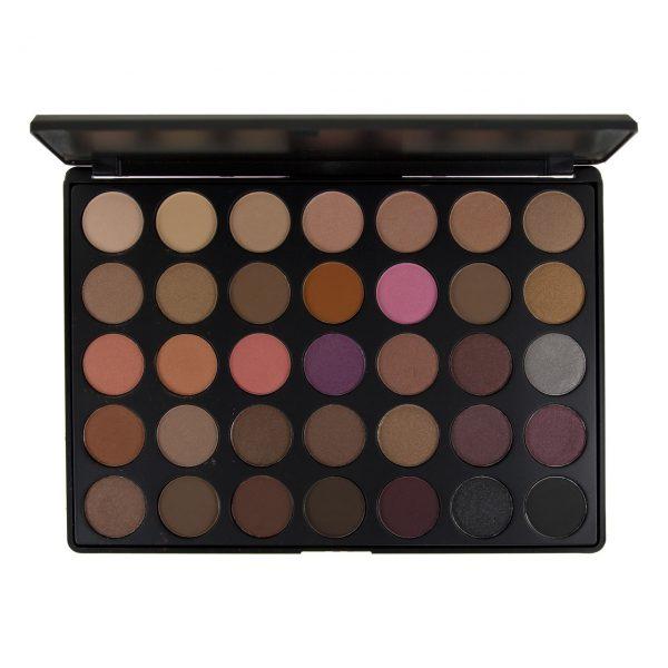 BLUSH PROFESSIONAL - Paleta 35 colores para sombras de ojos WARM