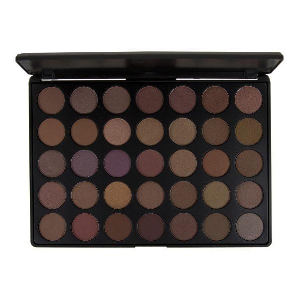 BLUSH PROFESSIONAL - Paleta 35 colores para sombras de ojos TAUPE