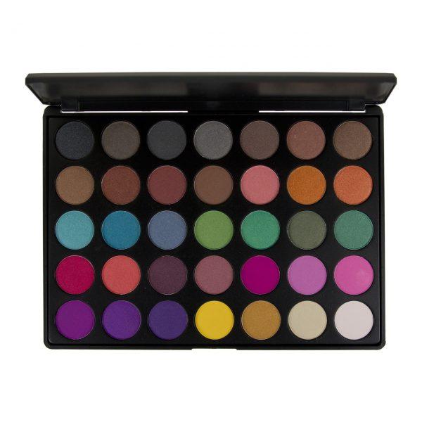 BLUSH PROFESSIONAL - Paleta 35 colores para sombras de ojos BRIGHTS