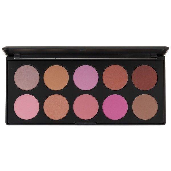 BLUSH PROFESSIONAL - Palette 10 colores para colorete