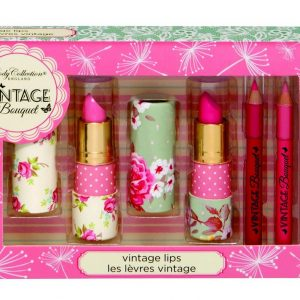 BODY COLLECTION - Set 3 barras de labios VINTAGE BOUQUET