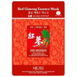MJ CARE Mascarilla de ginseng rojo