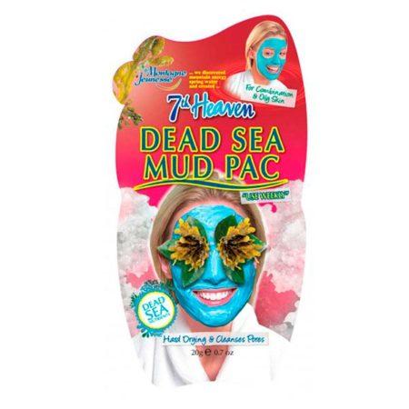 mascarilla con barro del mar muerto